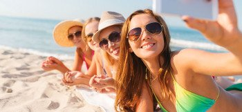 spiaggia_selfie